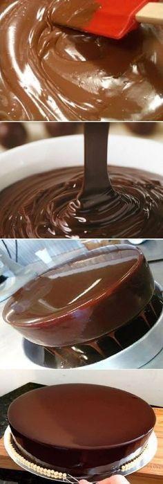 Cake Chocolate Fondant Frosting Recipes 66 Ideas For 2019 Cake Mix Recipes, Cupcake Recipes, Cupcake Cakes, Dessert Recipes, Chocolate Ganache, Chocolate Fondant, Love Chocolate, Chocolate Cupcakes, Fondant Frosting Recipe