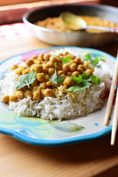 """PIONEER WOMAN'C CHICKPEA CURRY - """"This is an utterly scrumptious, super-flavorful pantry meal that happens to be one of the fastest ways to satisfy a curry craving that might strike you here or there."""""""