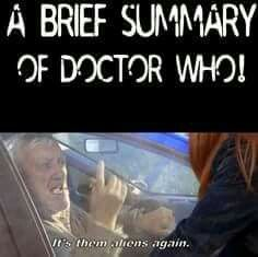 A brief summary of Doctor Who, by Wilfred!