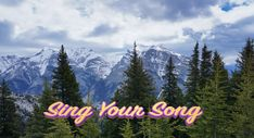 Everyone is born with a song in their soul. Life is abouot discovering your song and singing it out loud! The thing you're naturally good at, are clues to your song.