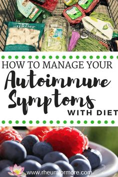 Autoimmune Symptoms: How to Manage Them with Diet