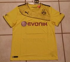 NWT PUMA Borussia Dortmund BVB Soccer Jersey Men s Large. Sports Jerseys  Treasures 56a383f5e