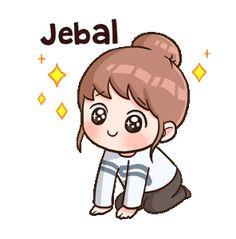 Korean Drama Funny, Cute Korean, Cute Love Cartoons, Cute Love Memes, Korean Stickers, Funny Stickers, Gif Lindos, Anime Korea, Cute Sketches