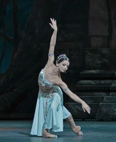 Evgenia Obraztsova as Nikiya in La Bayadère. Photo by Dave Morgan
