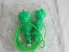 Green Giant Jump Rope Little Sprout Promotion New Old Stock by LuRuUniques on Etsy
