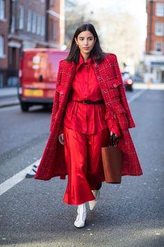 Street style from London Fashion Week Fall 2018