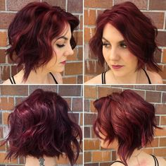 Stylish Curly Bob Hairstyle for Women Short Hair - Summer Haircut Ideas