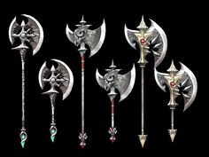 Battle axe weapon collection 3d model 3dsMax files free download. #axes #handmade Axe Tattoo, Dragon Sword, Harry Potter Drawings, Mens Toys, Battle Axe, Cg Artwork, Fantasy Weapons, Medieval Fantasy, Kawaii Anime Girl