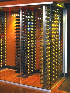 Contemporary Wine Cellar Floor Tile Design, Pictures, Remodel, Decor and Ideas - page 10