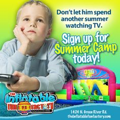 Jump into summer by signing your kids up for our Summer Camp!