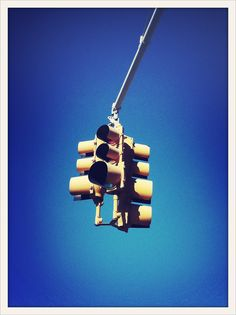 Traffic lights, NYC