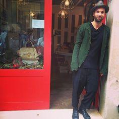 #hat#reinhardplank, #cardigan#paulharnden, #knitwear#lost&found, #trousers#rickowens, #shoes#marsèll