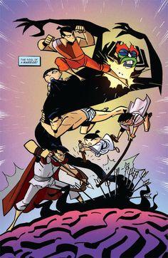 Resultado de imagem para samurai jack