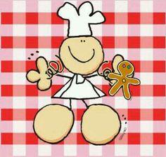A cocinar con amor.