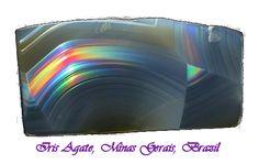 Agate - Iris Agate, Minas Gerais, Brazil