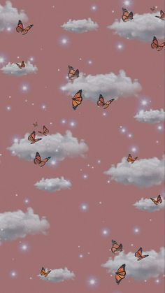 Pin by Destanie on tapety | Iphone wallpaper themes, Butterfly wallpaper iphone, Butterfly wallpaper backgrounds
