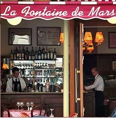La Fontaine de Mars    My French Country Home, French Living - Sharon Santoni