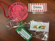 Dr. Seuss for Open House...goodies