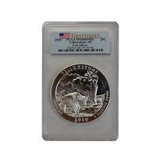 2010 5 oz Silver ATB - Yellowstone National Park PCGS MS68 DMPL http://www.gainesvillecoins.com/buy-silver.aspx