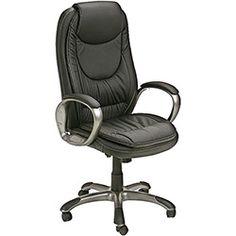 Cadeira Presidente Monti Giratória Preta - Links