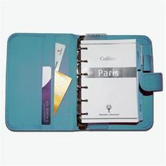 Collins 2016 Diaries, Pocket Organisers, Paris Organiser