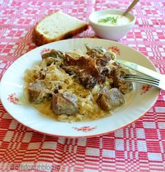 Pork, Beef, Dishes, Recipes, Red Peppers, Pork Roulade, Meat, Plate, Pigs