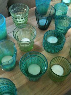 sea glass hues/ Tracery Interiors