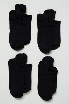 4-pack sneaker sokker