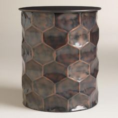 One of my favorite discoveries at WorldMarket.com: Metal Rani Drum Accent Table