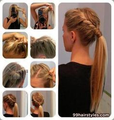Swell Hairstyles Cute Summer Hairstyles And Step By Step On Pinterest Hairstyles For Women Draintrainus