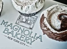 Try one of the Magnolia Bakery shops in New York