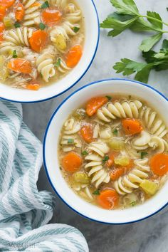 This Turkey Noodle Soup is hearty, comforting and works great with leftover turkey! Includes tips for making with turkey carcass, as well as Instant Pot and Slow Cooker tips. Turkey Soup From Carcass, Turkey Noodle Soup, Turkey Broth, Turkey Stock, Homemade Turkey Soup, Leftover Turkey Soup, Turkey Leftovers, Thanksgiving Leftovers, Instant Pot Turkey Soup