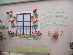 Balcones de primavera (5) Spanish Classroom Decor, Spanish Party, Hispanic Heritage Month, Teaching Spanish, Spring Crafts, Ideas Para, Party Themes, Arts And Crafts, Nursery
