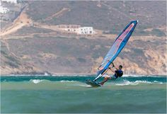 It's still on at Flisvos in Naxos Bay: Wind normally reliable until Sept ‪#‎windsurfing‬ ‪#‎travel‬ ‪#‎naxos #greece - ActionTripGuru.com