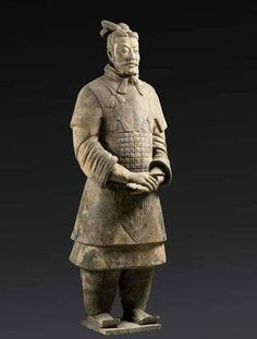 Replica of a terra cotta warrior from China Qin Dynasty, Terracotta Army, China Today, China Painting, Sculpture, World Traveler, Chinese Art, Statue, Japan