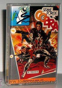 Strike Force Cobra [Piranha] 1986 AS Software / System 4 de España [AMSTRAD CPC]