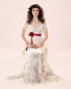 An Interview With Claire Pettibone ~ Romantic, Whimsical, Ethereal Wedding Dress Designs...