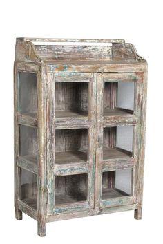 Vitrine aus Indien Buffet Glasschrank Beisteller von wood-art-ms auf DaWanda.com