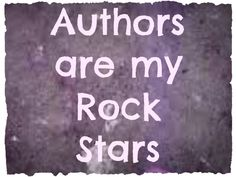 Authors are my Rock Stars