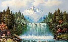 Resultado de imagen para pinturas de paisajes hermosos