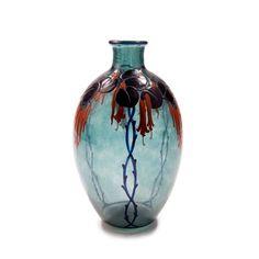 Vases, Art Nouveau, Art Deco Glass, Fuchsia, Global Art, Art Market, Decoration, Flower Arrangements, Pottery