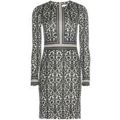 mytheresa.com - Deborah silk jersey dress - Short - Dresses - Clothing - Tory Burch - Luxury Fashion for Women / Designer clothing, shoes, bags