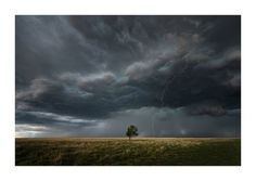 Lightning Strike by Sandra Herber Sorry about my recent absense; Time Lapse Film, Sheer Luck, Tornado Alley, Lone Tree, Great Plains, Lightning Strikes, Severe Weather, Short Trip