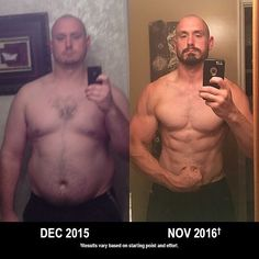 "See what can happen with a year of hard work! In that time Andrew Eckman shed 130 lbs and got into the best shape of his life and all he had was a set of INSANITY DVDs that he purchased for $120 (plus S&H). Imagine what YOU could do with a full year of unlimited access to ALL of the programs available on Beachbody On Demand including new releases now for just $99.95. Its the perfect time to get started! Contact me for details!  He says: ""I reached my goal thanks to INSANITY! It has taken a…"