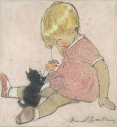 :: Sweet Illustrated Storytime :: Illustration by Muriel Dawson - (1897-1974)