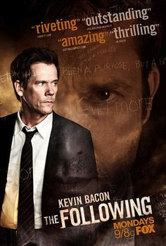 "Serientip: ""The Following"" mit Kevin Bacon (Fox Series // Poster   Trailer)"