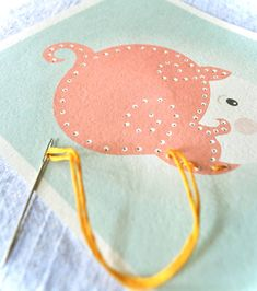 Printable Sewing Card Activity For Kids   Handmade Charlotte.  SO DARLING!