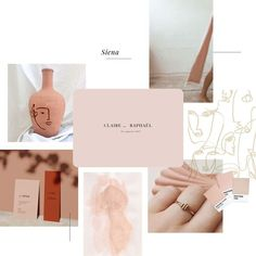 Branding Design, Logo Design, Magazine Collage, Web Design Projects, Collage Design, Fashion Collage, Website Themes, Palette, Showcase Design