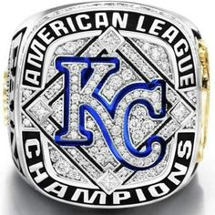 Kansas City Royals Baseball Ring 2014 Season
