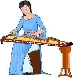 ダン・チャン dan tranh. ベトナムの弦楽器。